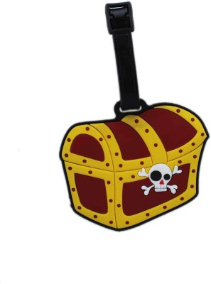 Tootpado Pirate Treasure Chest Luggage Tag