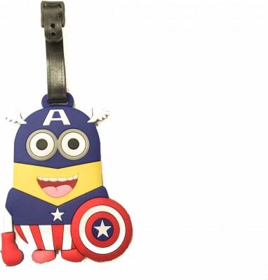Funcart Captain America Luggage Tag