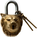 Aesthetic Decors Lion Face Design Safety...