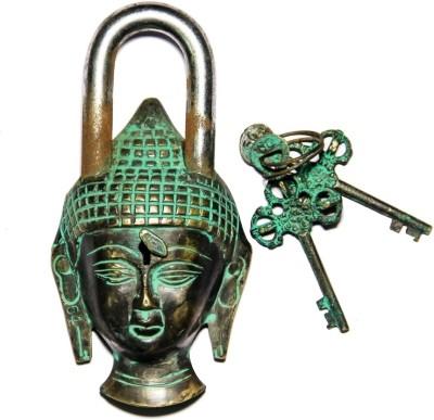 Unravel India Buddha Secret Brass Safety Lock