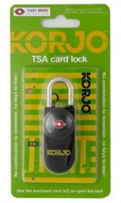 Korjo TSA Safety Lock(Black)