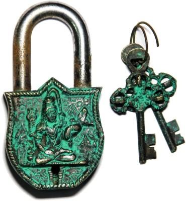 Unravel India Shiva Brass Safety Lock