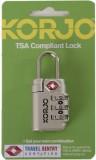Korjo TSA Compliant Lock (Silver)