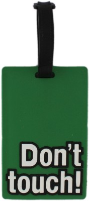 Tootpado Travel Bag - Don'T Touch (Pack Of 2) Luggage Tag