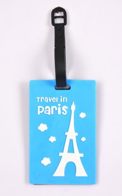 Shrisay Ventures Travel In Paris Pack Of 2 Luggage Tag