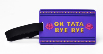 Happily Unmarried Ok Tata Luggage Tag Safety Lock