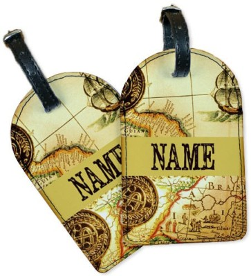 Perfico Around the World Luggage Tag