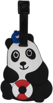 Tootpado Panda Cartoon Design Travel Bag - 1i395 Luggage Tag