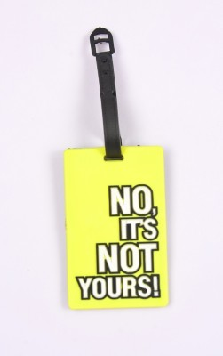 Shrisay Ventures Not Yours Luggage Tag