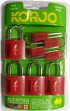 Korjo KTSALL4RD Safety Lock (Red)