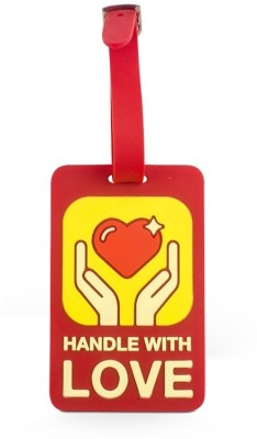 Happily Unmarried Handle With Love Luggage Tag