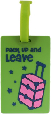 Tootpado Travel Bag Tag (Pack of 2) - Green - Pack up And Leave Luggage Tag