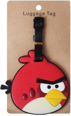 Funcart Angry Birds Luggage Tag