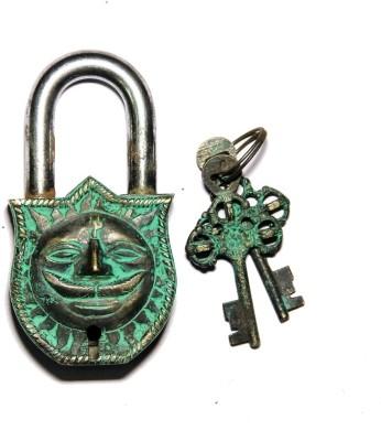 Unravel India Sun Brass Safety Lock