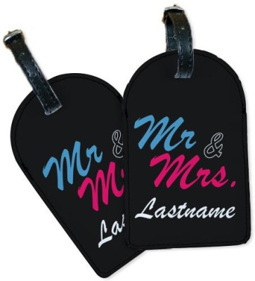 Perfico Mr and Mrs III Luggage Tag