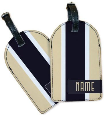 Perfico Hampton White Luggage Tag