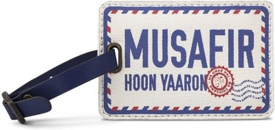 Happily Unmarried Musafir Luggage Tag