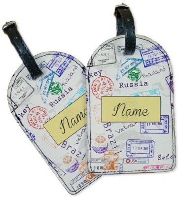 Perfico Stamped Luggage Tag