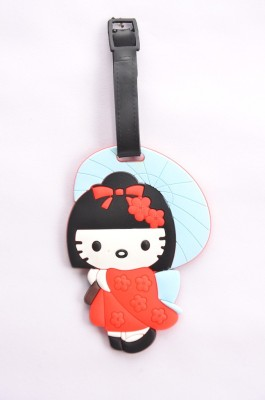Shrisay Ventures Chinese Girl Pack Of 2 Luggage Tag