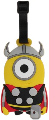 Tootpado Travel One Eyed Superhero Minion 1i301 Luggage Tag