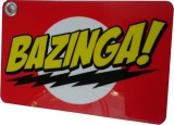 Thoughtroad Bazinga Luggage Tag (Red, Ye...