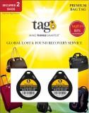 Tag8 Tag8 Bag tag Luggage Tag (Black)