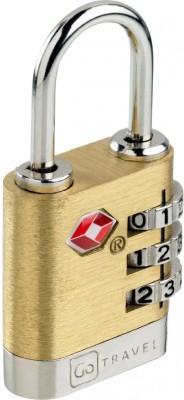 Go Travel Brass Travel Safety Lock