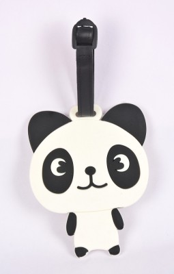 Shrisay Ventures Standing Panda Pack Of 2 Luggage Tag