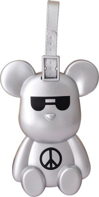 Super Drool Techno Bear Luggage Tag