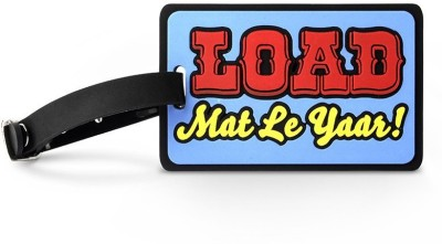 Happily Unmarried Load Mat Le Yaar Luggage Tag Safety Lock