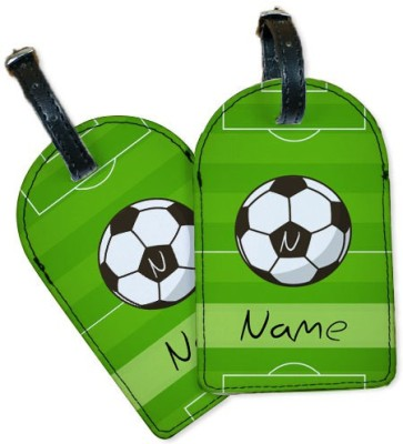 Perfico Love Football Luggage Tag