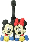 Funcart Mini Mouse Luggage Tag (Multicol...