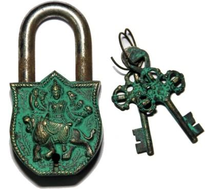 Unravel India Durga Brass Safety Lock