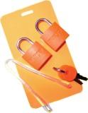 Korjo Baggage ID Set Safety Lock (Orange...
