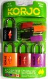 Korjo KTSALL4MIX Safety Lock (Multicolor...