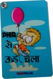 Thoughtroad Phir Se Ud Chala Luggage Tag...