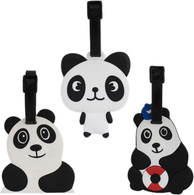 Tootpado Travel Bag - Panda (Pack of 3) 1i408 Luggage Tag