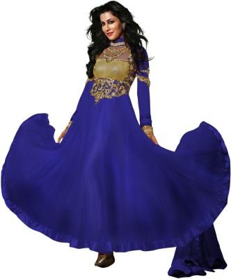 Hari Krishna Enterprise Georgette Embroidered Salwar Suit Dupatta Material