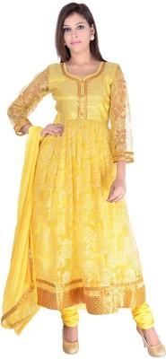 Nisba Fashions Self Design Kurta & Salwar