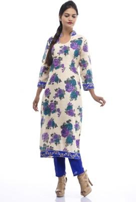 The niyati Floral Print Kurti & Leggings