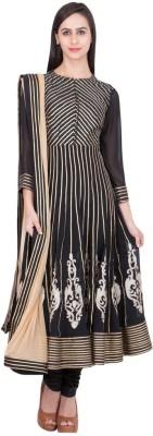 Aarohi Garments Striped Kurta & Churidar