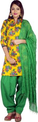 Jaipur Kurti Floral Print Kurta & Salwar