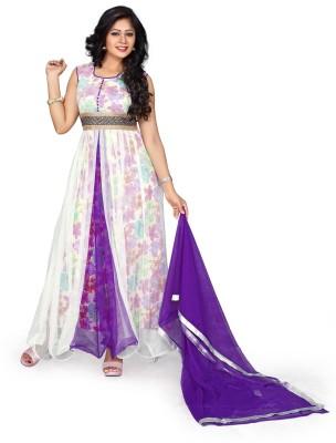 Krisha Fashion Floral Print Kurta & Salwar