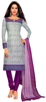 FastColors Cotton Self Design Salwar Suit Dupatta Material