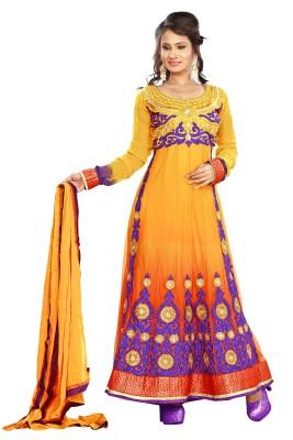 Kaia Printed Anarkali Suit
