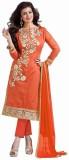 Hardik Chanderi Embroidered Salwar Suit ...