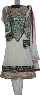 Elegant Georgette Embroidered Salwar Suit Dupatta Material