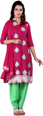 Anaisha Embroidered Kurta & Salwar