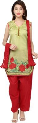 Isha Fashions Embroidered Kurta & Churidar