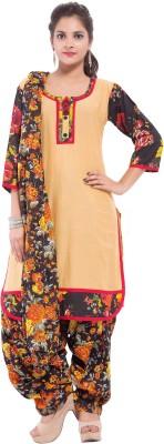 Nisba Fashions Printed Kurta & Churidar